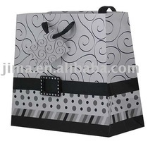 Luxury White Card Paper Shopping Bag