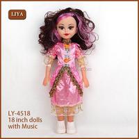 Custom high quality new design lovely fat doll