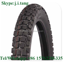 LOTOUR Brand 2.75-18 off road pattern Tube tyre for motorcycle