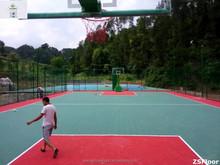 ZSFloor portable badminton/ basketball/ volleyball court mat