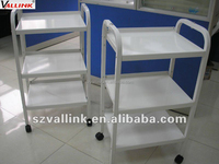 office steel folding utility cart with wheels