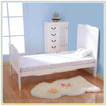 acrylic wooden colorful baby bassinet
