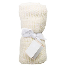 Cute Baby 100% Cotton Weave Light Colour Summer Cool Blankets