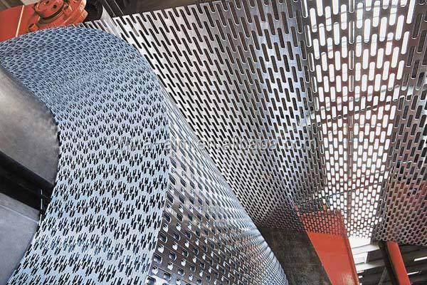 Decorado de malla metálica perforada/paneles de malla de alambre ...