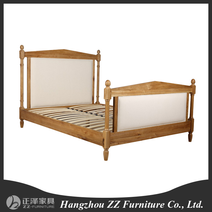 Us country style bedroom furniture headboard hotel bed for Country style bedroom suites