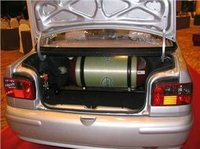CNG composite cylinder type 2 for car