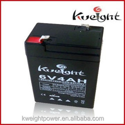 Maintenance free rechargeable battery 6v 4ah lead acid vrla battery 6v 4ah