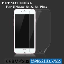 2015 New Arrival For iPhone 6s 3 Layer PET screen protector / Clear screen protector
