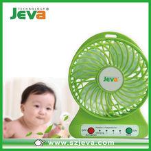 Mini usb aire acondicionado ventilador de aire frío con LED