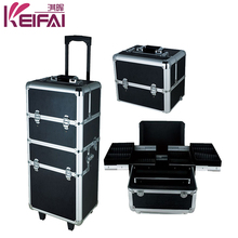 Alibaba China Lockable Multi-Functional Professional Makeup Trolley Case