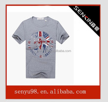 cotton lycra women tshirts soft cotton plain custom fabric tshirt