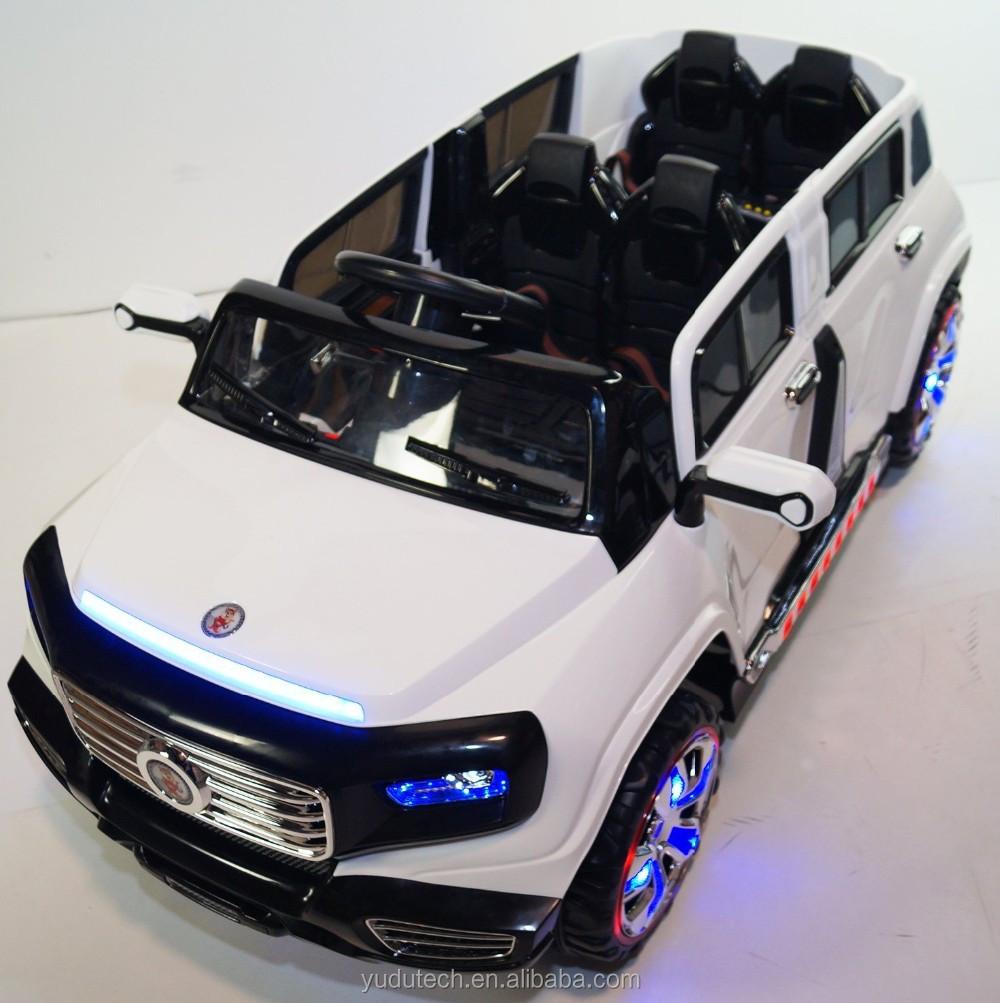 superbe 2 places grand suv style 12 v batterie exploit voiture pour enfants avec de la musique. Black Bedroom Furniture Sets. Home Design Ideas