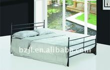 baratos simple estilo de metal de doble cama xs5056
