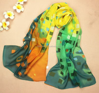 new arrival floral summer silk scarf