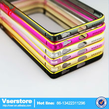 Aluminum Metal Frame Bumper For iPhone 6 Plus Case Double Color Arc Edge Metal Border Bumpers china suppliers