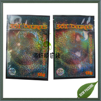 Glitter glossy printing 361 degrees Killa gorilla 3g herbal incense potpourri bag wholesale