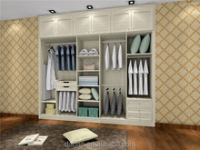 simple wardrobe/model wardrobe wood/white colour bedroom wardrobes