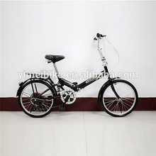 venta caliente nuevo diseño 20 pulgadas bicicleta plegable bicicleta de doble