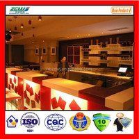 2015 new type hot sale New arrival Laminated Engineering Manmade Polished Artificial Red Quartz Countertops Discount