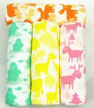 New fashion design cotton baby blanket
