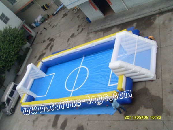 2015 inflatable football field/inflatable football pitch/inflatable soccer field