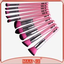 Hot 10pcs Makeup Brushes Tools Foundation Blending Blush Brush Essential superb
