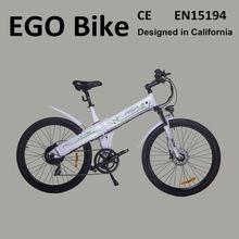 Flash,inexpensive 26inch 250w battery powered mini/pocket electric bike