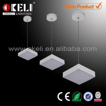 Modern pendant light,square led pendant light,led panel light direct sale from Zhongshan factory
