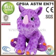 Eco-friendly safety big sweet hippo doll