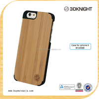 Handmade wood phone cover/wood phone case for iphone 6