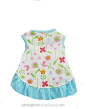 Flower & Butterfly Dress, Pet Dog & Cat Clothes, Apparel