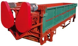 Durable log peeling machine HX-S600 for paper-making plant