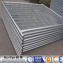 ISO9001 anping factory hot dipped galvanized temporary metal fence panels