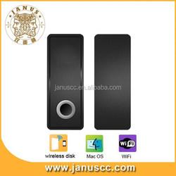 Janus U1 32GB wireless bulk usb flash drive for iphone support Mobile Storage Media Sharing ,WLAN Hot Spot.