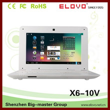 """stock price Android netbook computer one-year warranty notebook 1GB memory HDD 4GB quality 10""""netbook computer"""