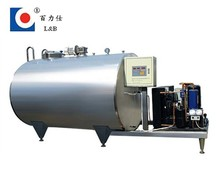Stainless steel direct milk cooling tank
