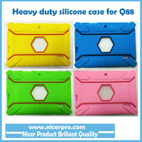 """7"""" INCH Heavy Duty SILICONE RUBBER CASE FOR ANDROID TABLET ALLWINNER A13 A23 A33 Q88"""