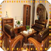 malaysia teak wood carving sofa set designs furniture hot sell