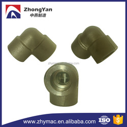 ASME B16.11 forged carbon steel pipe fittings elbow