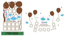 Balloon Picture Frame Wall Sticker Decal Decor Removable