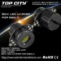 High quality good price Led Angel Eye 80W E90 LCI Led Marker Light