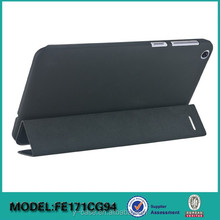 Ultra thin smart cover case for Asus FonePad 7 FE171CG ,Back PC with rubber coating