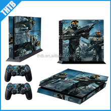 Hot sale customized designs protective cover vinyl skin sticker for ps4 console and controller