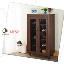 Ikea wooden shoe rack