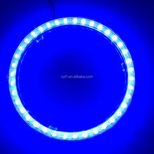 100mm 3.2w Blue/white led motorcycle Light Angel Eyes Halo Led Ring Light