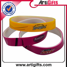 personalized souvenir factory direct fashionable oem rubber wristbands activities