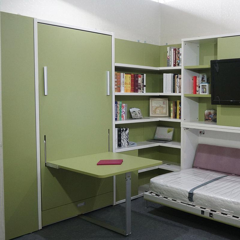 Horizontal single murphy bed space saving modern wall bed murphy bed view modern wall bed