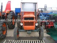 Farm Tractor UTB Universal 445 with cab