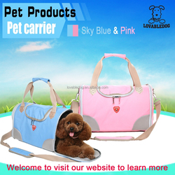 Wholesale cute Pink pet Carrier Bag outdoor carrier/Easy-carry Dog Cage