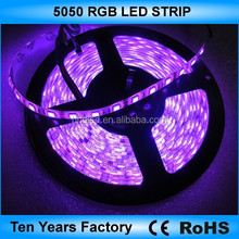 Factory sale 12v waterproof flexible rgb smd led strip light